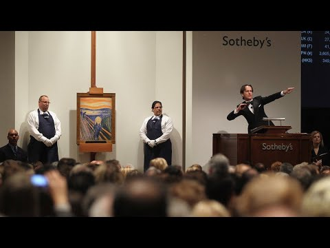 """The Scream"" Sotheby's Auction"