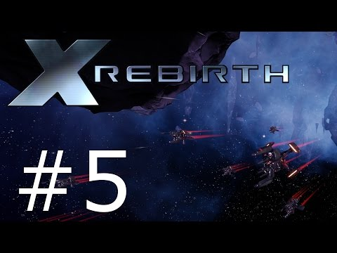 Let's Play X Rebirth - Part 5 Building a factory