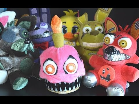 FNaF Funko Plushies Series 2 Review