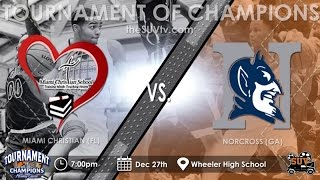 TOC Classic (National): Miami Christian (FL) vs. Norcross (GA) thumbnail