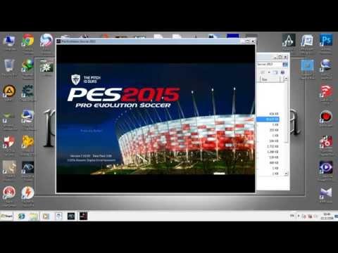 วิธีลง Pro Evolution Soccer 2015+PES 15 Patch Pesgalaxy 3 00