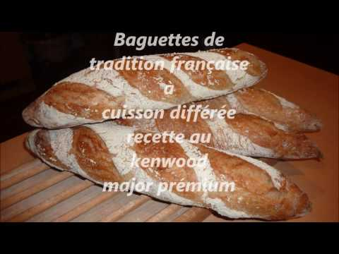 baguettes-de-tradition-française-à-cuisson-différée-faite-au-kenwood-major-titanium