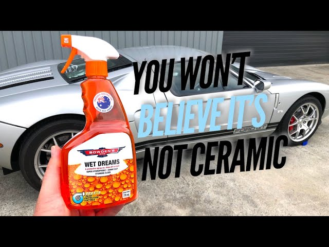 Wet Dreams - a great cheat in car care!