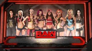 LIVE 8-WOMAN SIMULATION LADDER MATCH WWE 2K18 thumbnail
