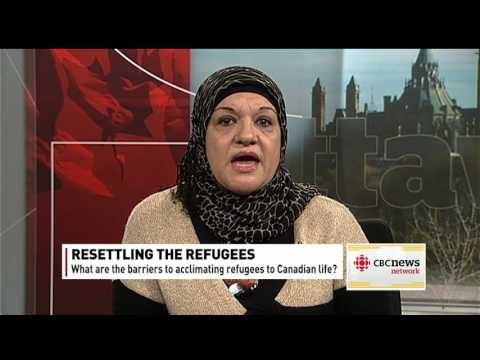 Assmaa Bailouni Interview on CBC NN Nov. 12, 2015