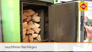 Neu bei HDG: Scheitholzkessel HDG F20-50