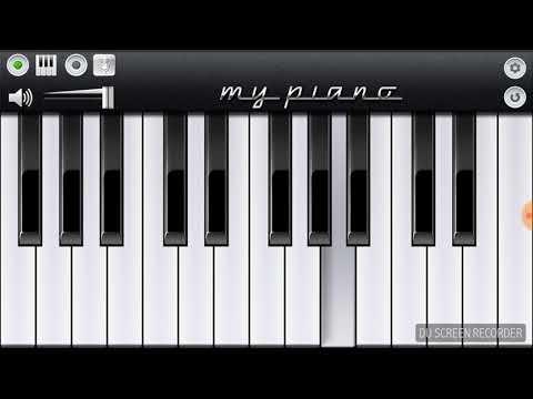 Dil Diyan Gallan Song | Tiger Zinda Hai | Salman Khan | Katrina Kaif | Atif Aslam | Mobile Piano