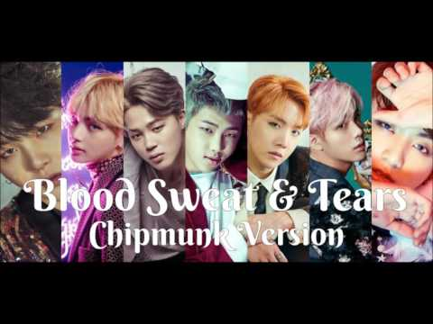 BTS - Blood Sweat & Tears [Chipmunk Version]