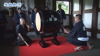 土浦 櫓門で刻の太鼓