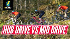 Entry Level Hub-Drive Vs Mid-Drive E-Bikes | What's the Difference?