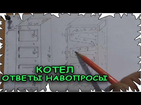Твердотопливный котел своими руками чертежи и принцип работы