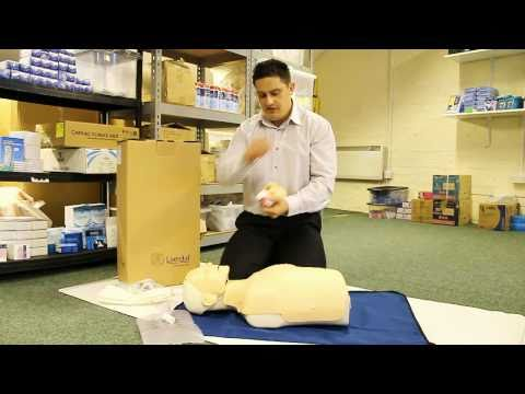 Laerdal Little Anne Manikin (CPR Manikin) - Unboxing, maintaining. Demo by First Rescue.