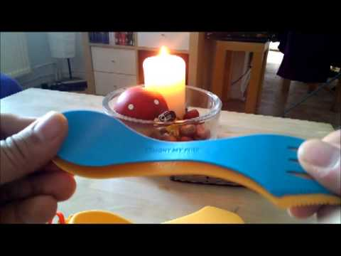 Light My Fire Spork & Nite Ize Hipclip Victorinox Mod Talk