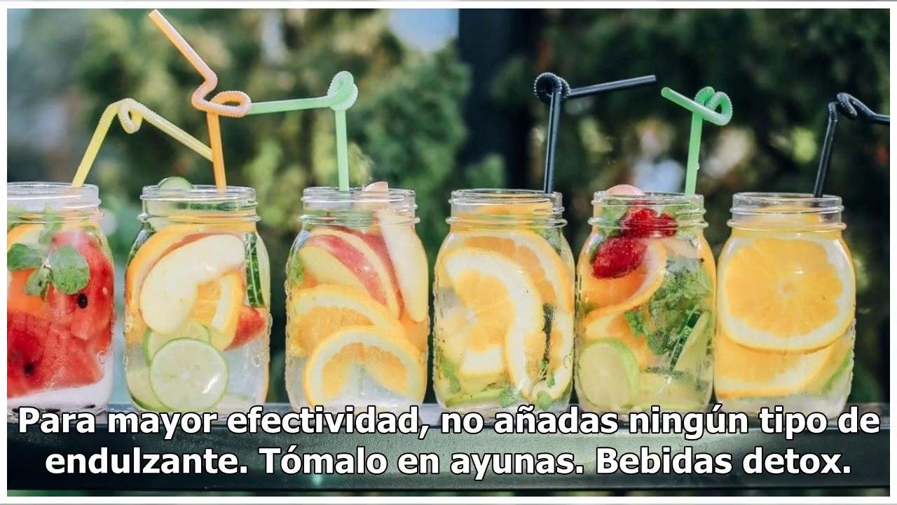 bebidas para perder peso abdominal