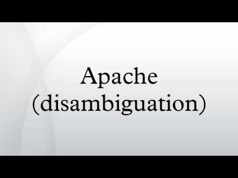 Apache (disambiguation)