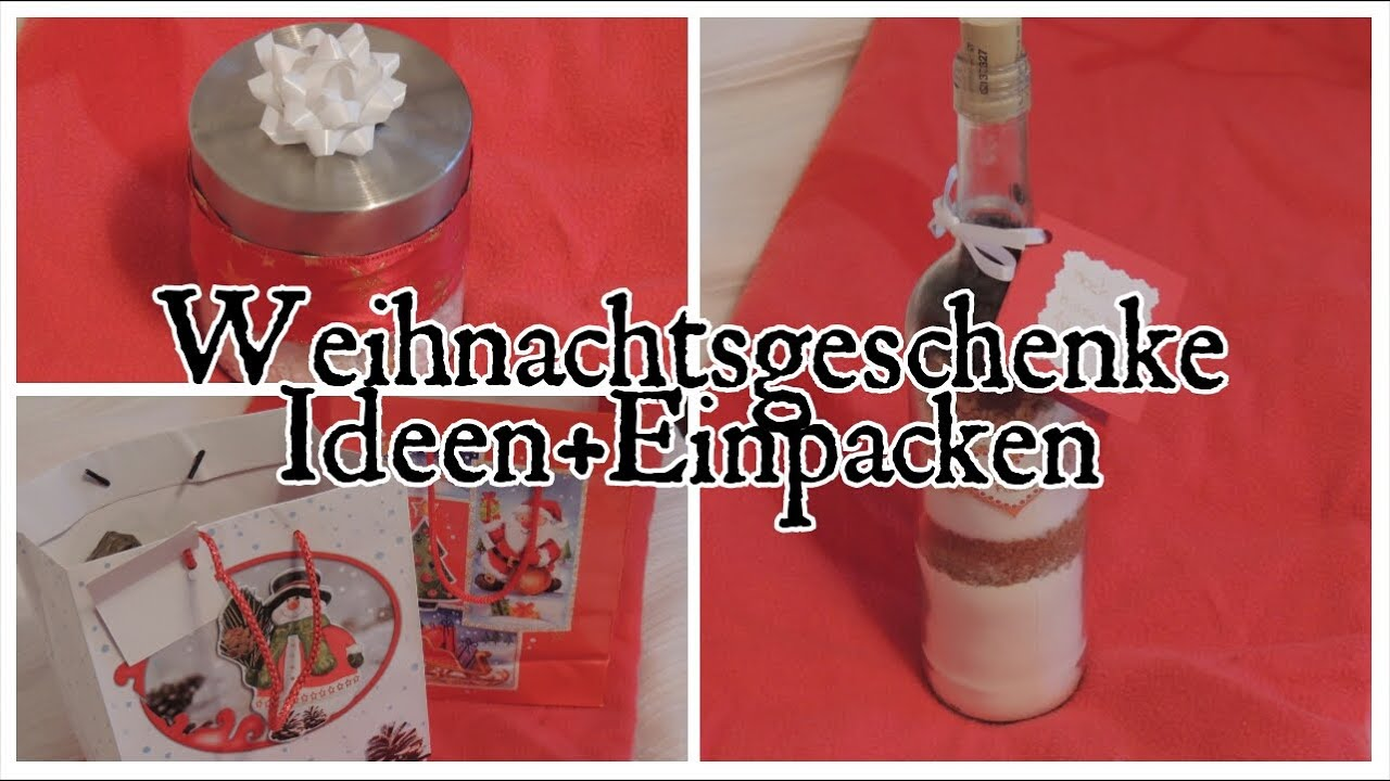 last minute weihnachtsgeschenke ideen einpacken youtube. Black Bedroom Furniture Sets. Home Design Ideas