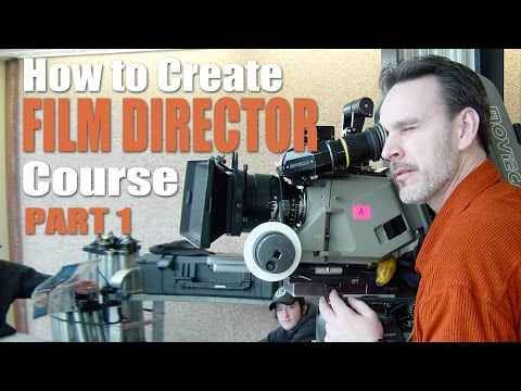 First Time Film Director - BTS - Creating Course for Beginners - Part1