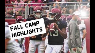 Alabama Crimson Tide Football: Watch Tua Tagovailoa and Jalen Hurts throw at Bryant Denny Stadium