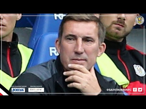 REACTION | Alan Stubbs Post Rangers