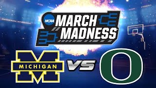 MARCH MADNESS PREDICTIONS: Sweet 16 MICHIGAN vs OREGON   NBA LIVE MOBILE vs NameIsChase!