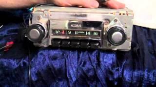 1968 thru 1972 Chevy C10 Pickup Truck original am radio