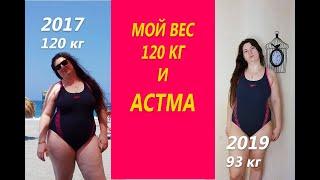 Как астма повлияла на то что я растолстела до 120 кг Моя история