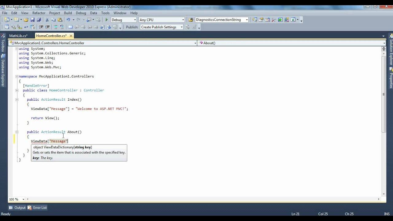 Scottgu's blog introducing asp. Net mvc 3 (preview 1).