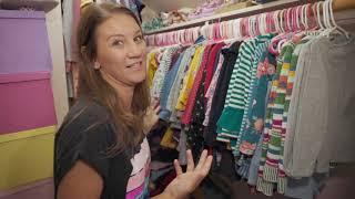 Busby Girls first Closet Tour