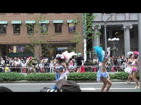 神戸サンバチーム in 神戸祭り2008