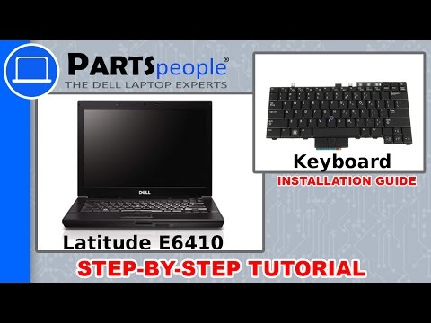 Dell Latitude E6410 Keyboard How-To Video Tutorial - YouTube