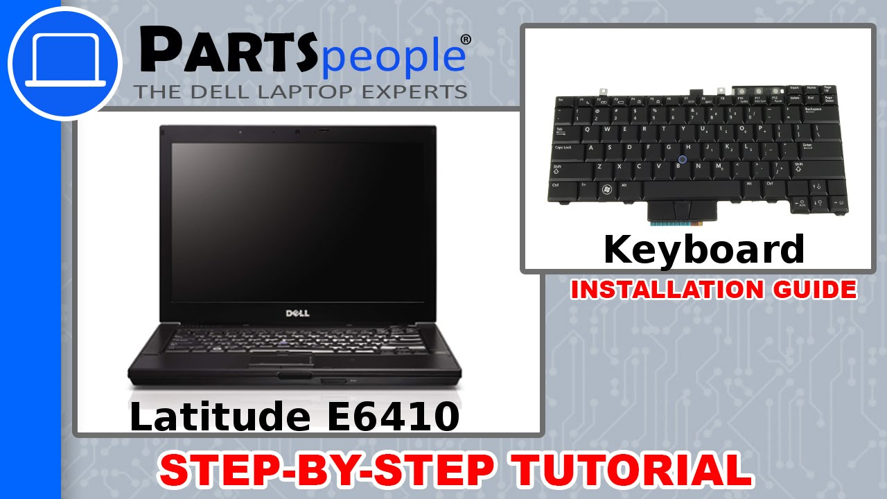 Dell Latitude E6410 Keyboard How-To Video Tutorial