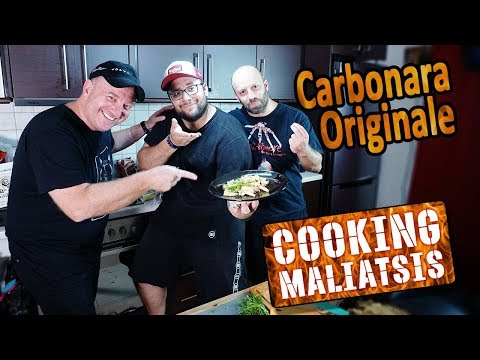 Cooking Maliatsis - 137 Carbonara Originale ft. Έκτορας Μποτ