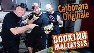 Cooking Maliatsis - 137 Carbonara Originale ft. Έκτορας Μποτρίνι