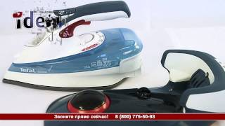 Утюг Tefal FV 9915(Видеообзор от интернет-магазина бытовой техники и электроники ideя! Подробные характеристики и наличие:..., 2015-09-04T06:51:24.000Z)