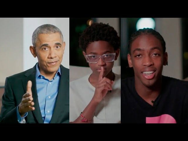 Barack Obama, Zaire & Zion with a special message to Dwyane Wade