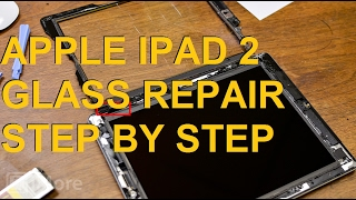 Step by Step How to repair Glass ipad 2 Wifi A1395 - Paso a Paso Reparar Cristal |SIEPONLINE|