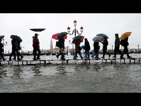 Hochwasser in Venedig: