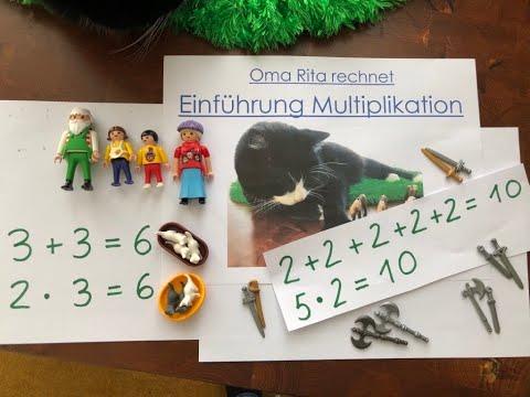 Einführung Multiplikation, von