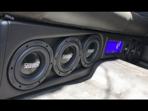 LOUDEST UNDER SEAT TRUCK BOX I'VE EVER HEARD! - PICKING UP WORK TRUCK 2 0  V2!!