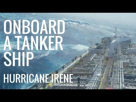 Hurricane Irene - Onboard Experience