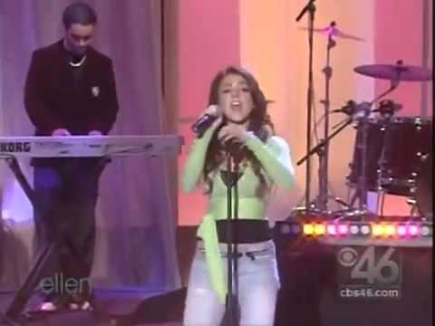 Lindsay Lohan Over (Live Ellen Degeneres Dec 16 2004)