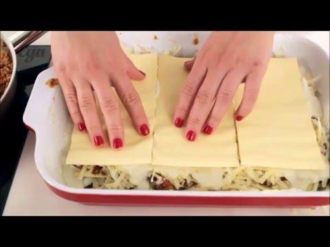 пошаговый рецепт классической лазаньи