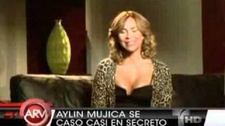 Aylin Mujica da el si quiero