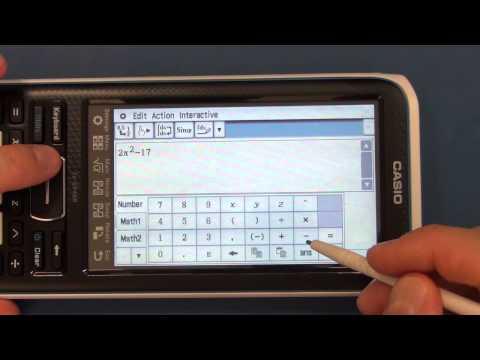 CAM #2 - Casio II FX-CP400 ClassPad Calculator, Arrival and Review