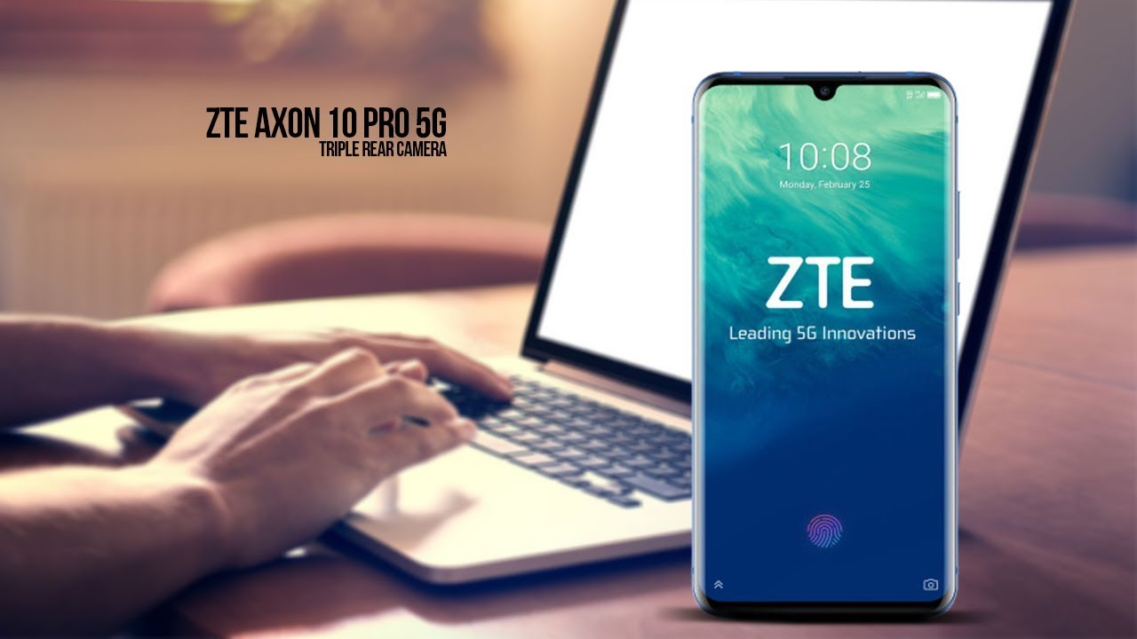 ZTE Axon 10 Pro 5G Triple Rear Camera hands-on video