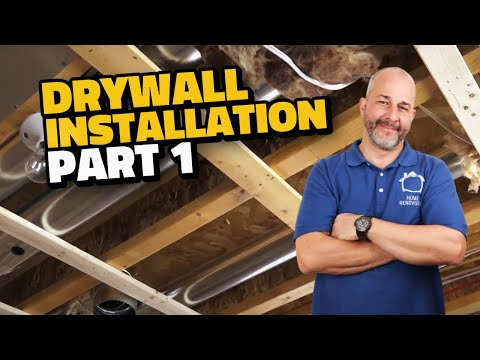Complete Drywall Installation Guide  Part 1