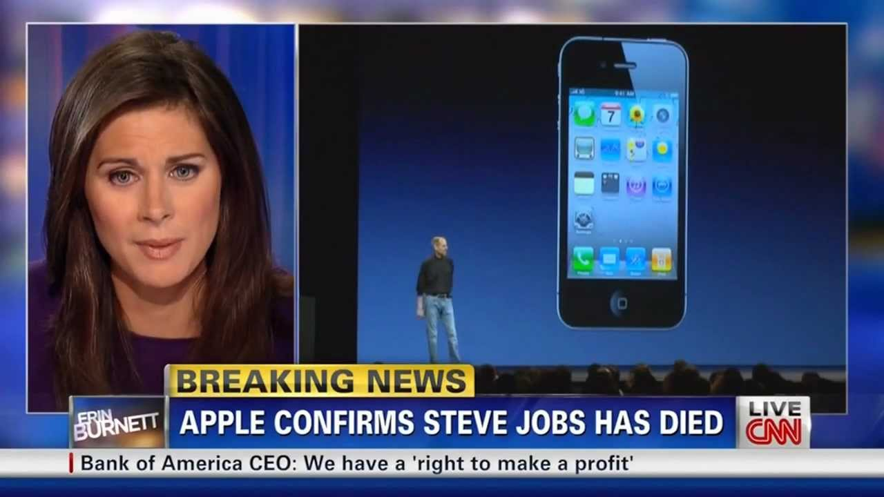 Steve Jobs Dies - YouTube