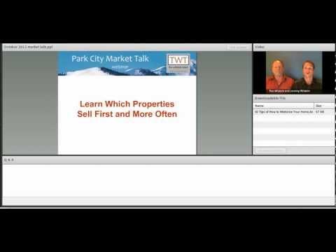 Park City Market Talk - October 2012
