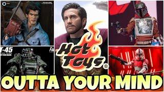 Hot Toys Sideshow Con 2021| The Mandalorian Cobb Vanth | Mysterio | Coruscant Guard | Ash Williams