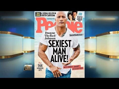 'The Rock' Sexiest Man Alive?